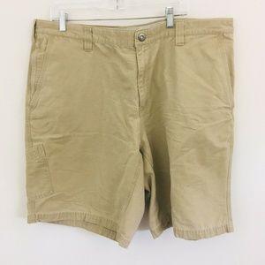 Columbia Khaki Hiking Shorts